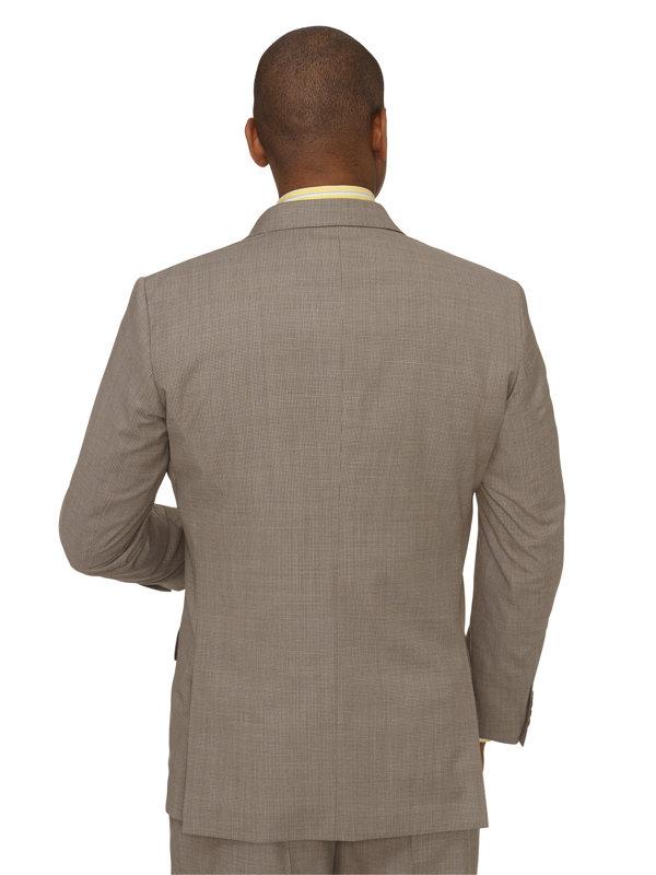 Wool Mini Grid Suit Jacket