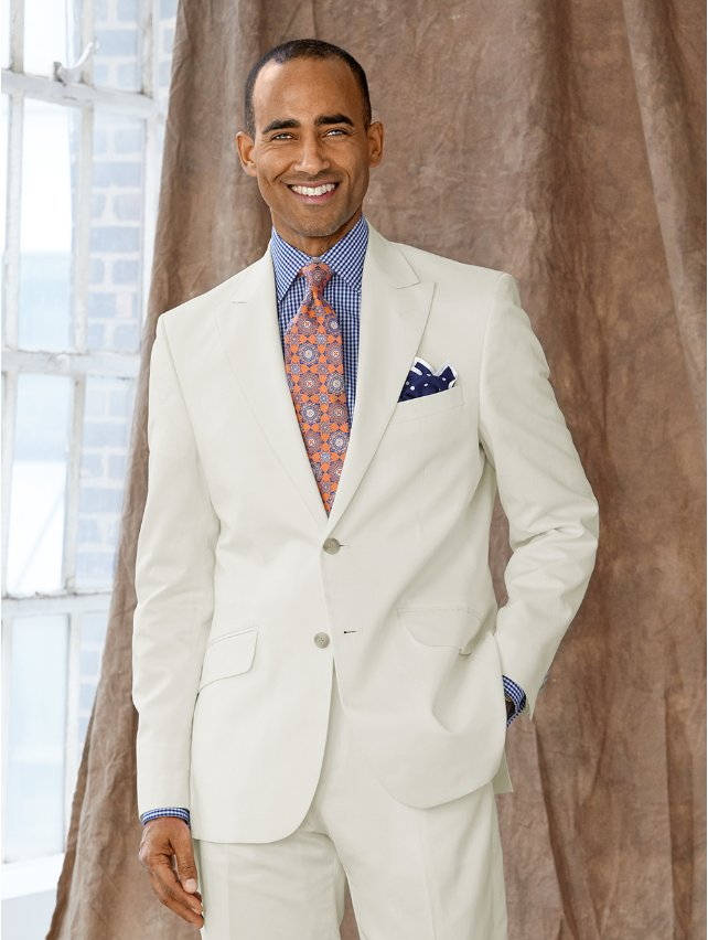 Cotton & Linen Twill Suit Jacket