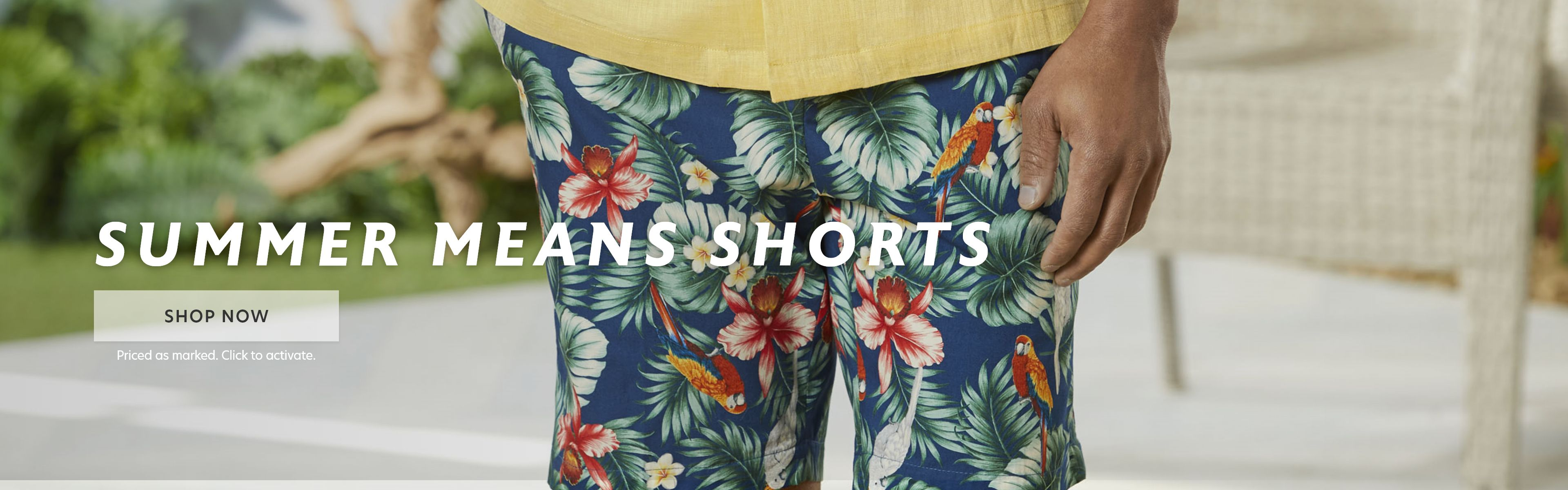 Summer Means Shorts