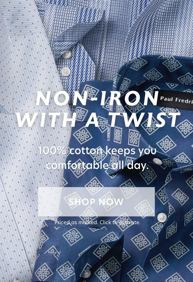 Non Iron with a Twist