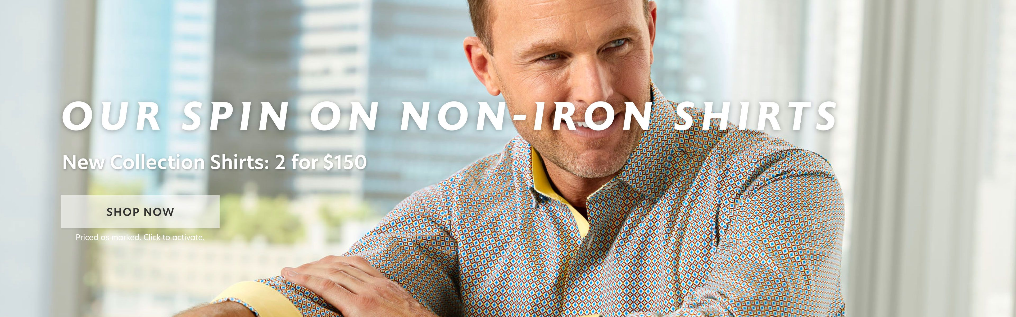 Our Spin on Non Iron Shirts