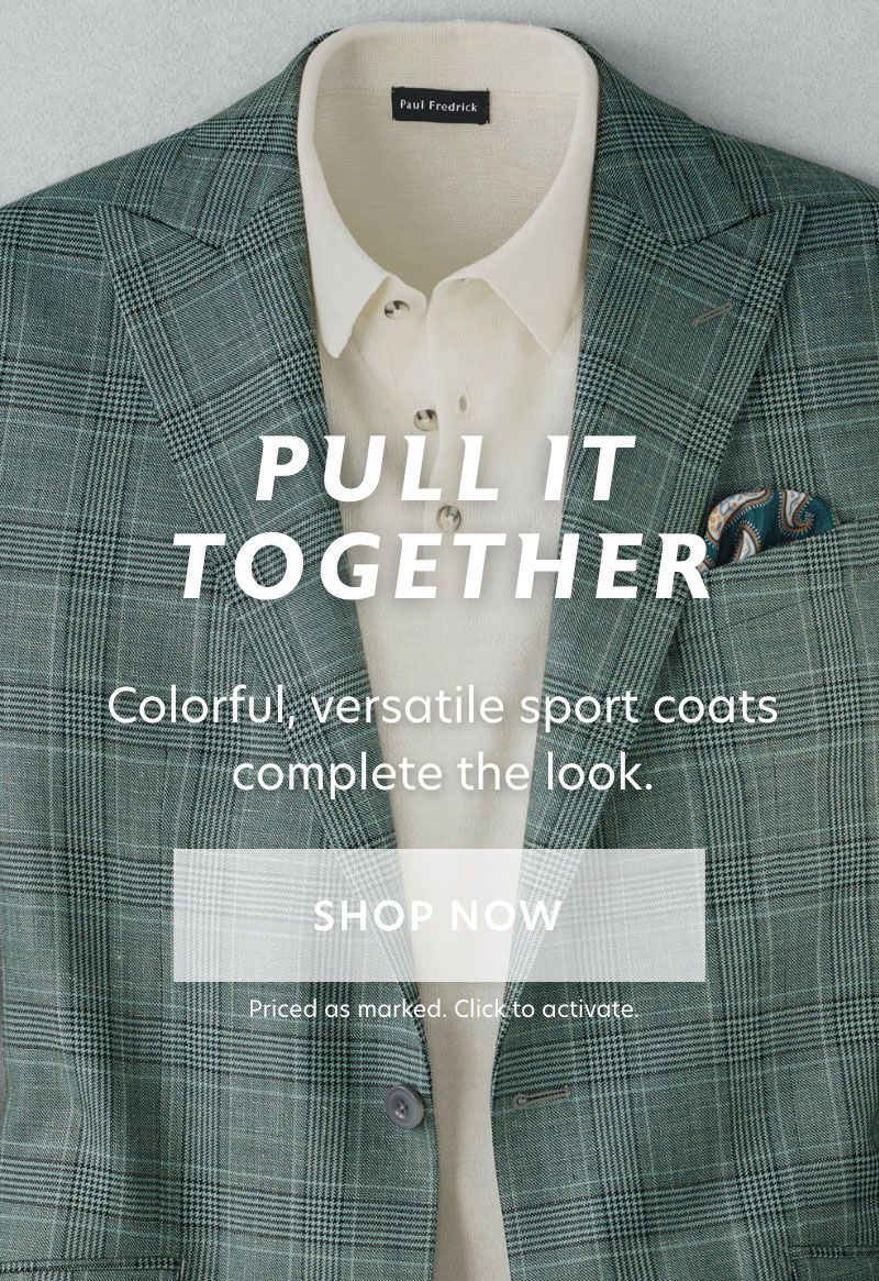 Pull It Together Sport Coats