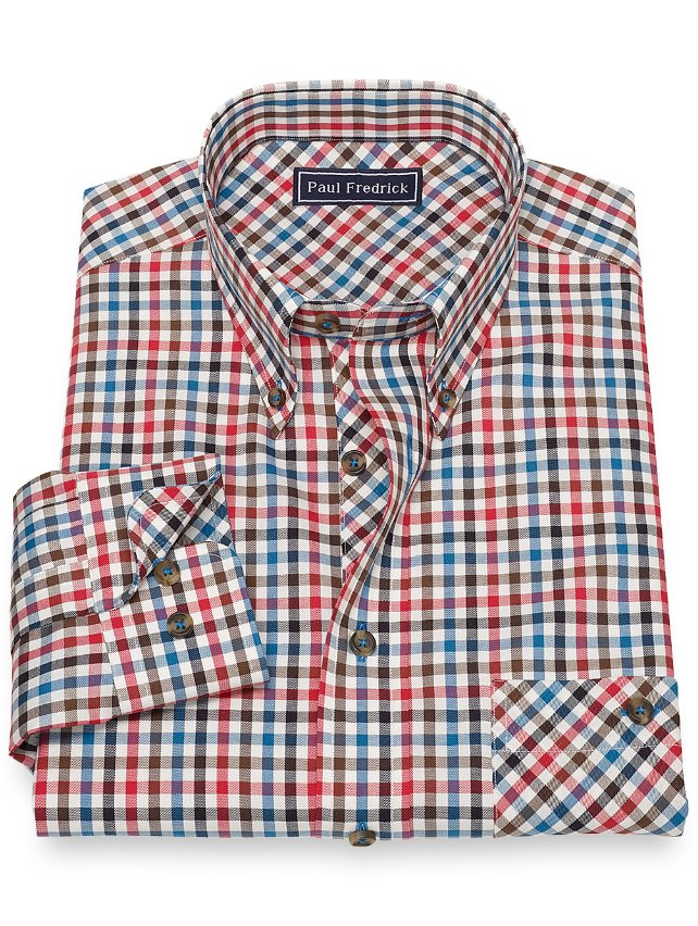 Twill Check Casual Shirt