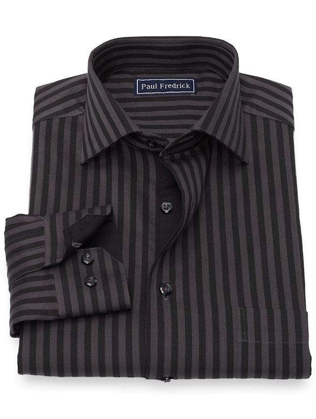 Cotton Stripe Casual Shirt