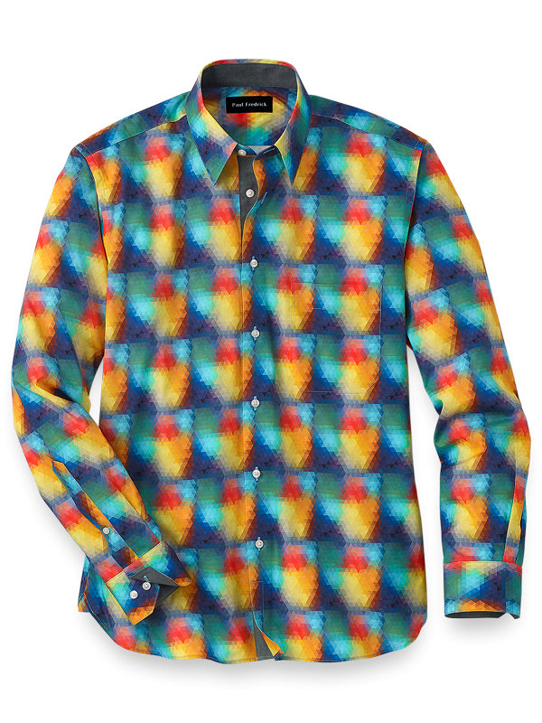 Easy Care Cotton Deco Casual Shirt