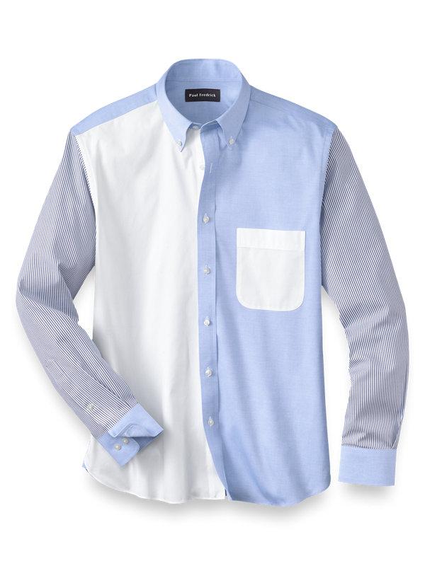 Cotton Mix-It-Up Casual Shirt