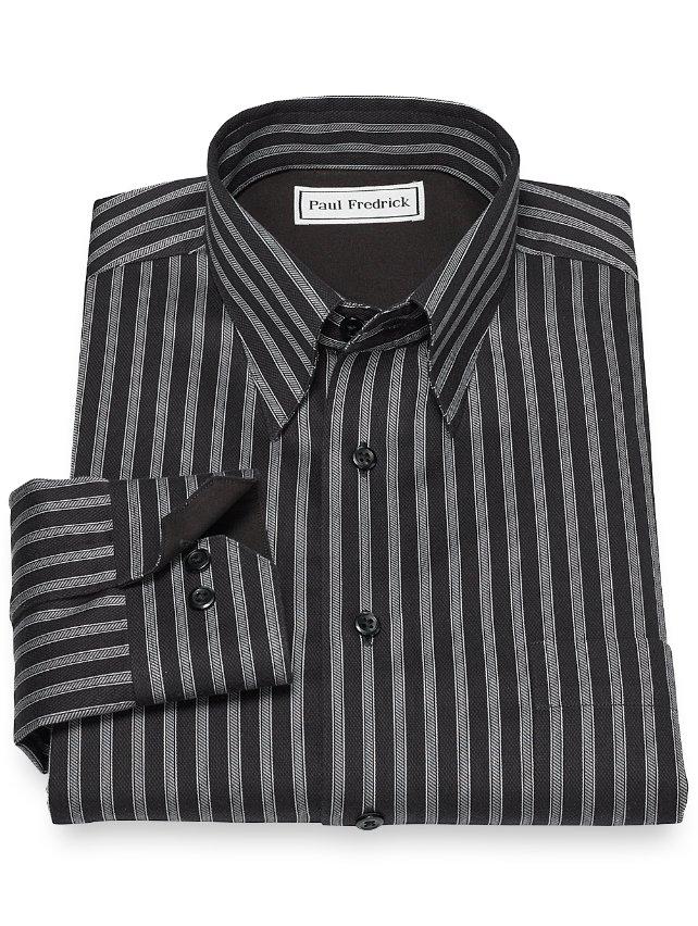 Non-Iron Cotton Stripe Casual Shirt