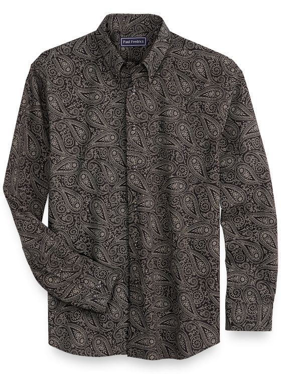 Cotton Paisley Casual Shirt