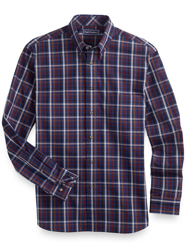 Cotton Check Casual Shirt