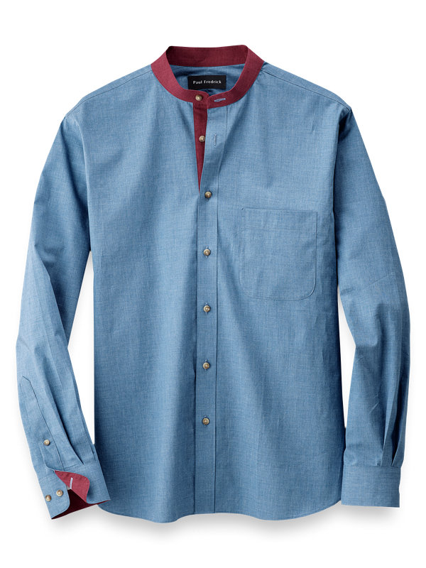 Slim Fit Cotton Casual Shirt