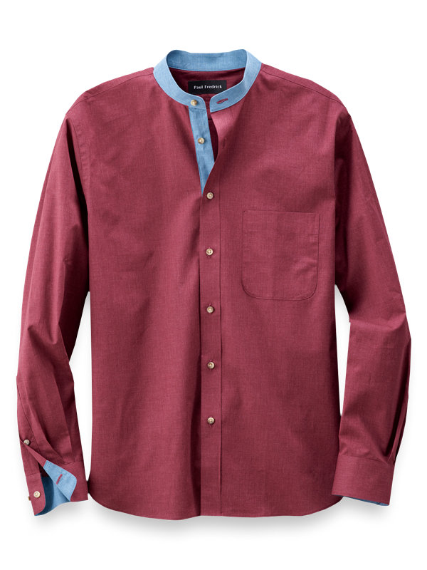 Slim Fit Cotton Casual Shirt
