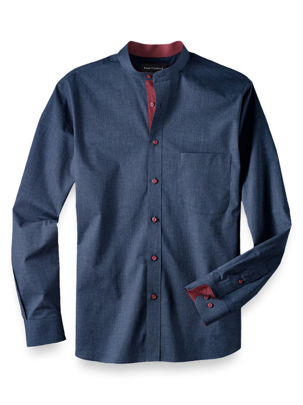 Slim Fit Cotton Solid Casual Shirt