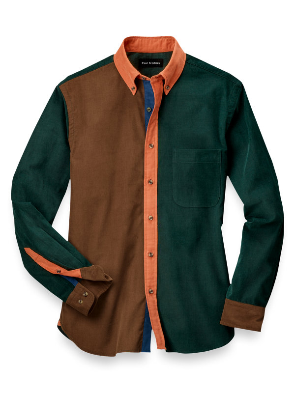 Cotton Solid Mix-It-Up Casual Shirt