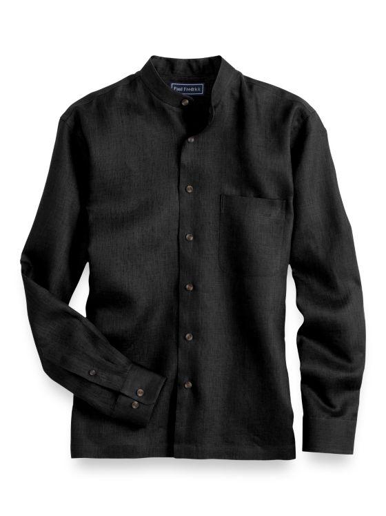 Slim Fit Linen Casual Shirt