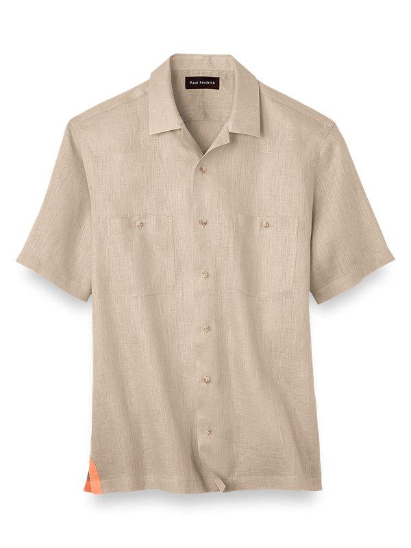 Linen Solid Casual Shirt