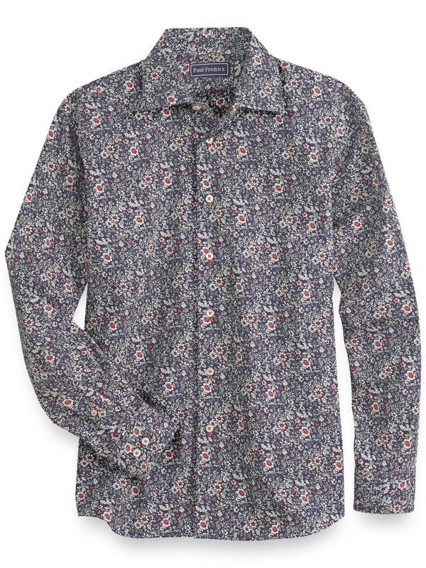 Cotton Floral Casual Shirt