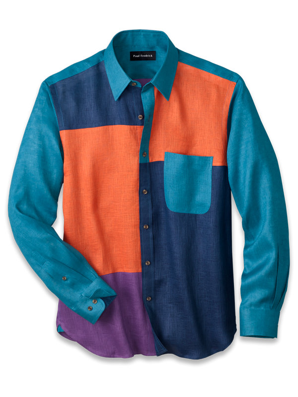 Linen Mix-It-Up Casual Shirt