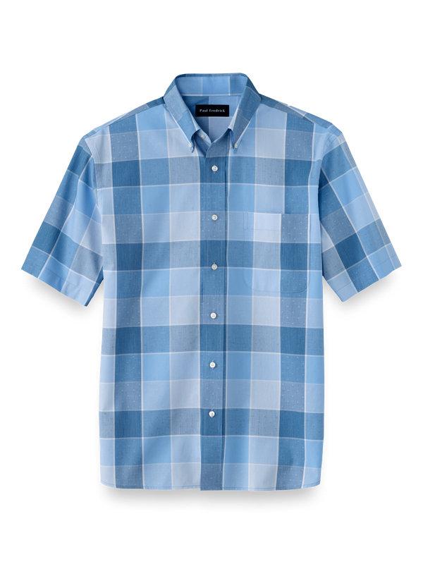 Cotton Buffalo Plaid Casual Shirt
