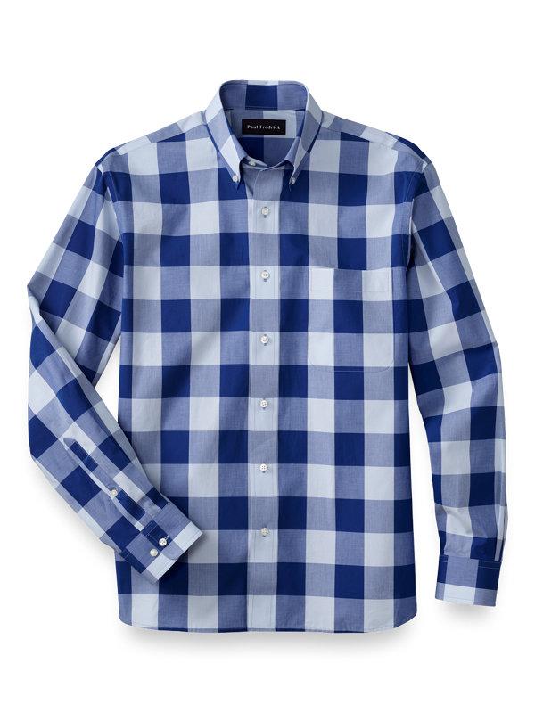 Cotton Check Casual Shirt