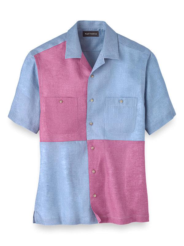 Slim Fit Linen Mix-It-Up Casual Shirt