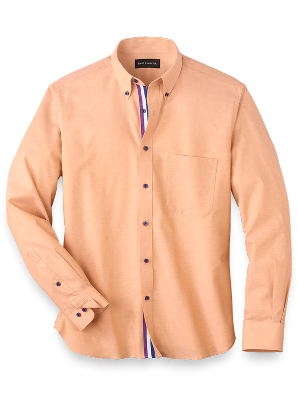 Easy Care Cotton Solid Casual Shirt