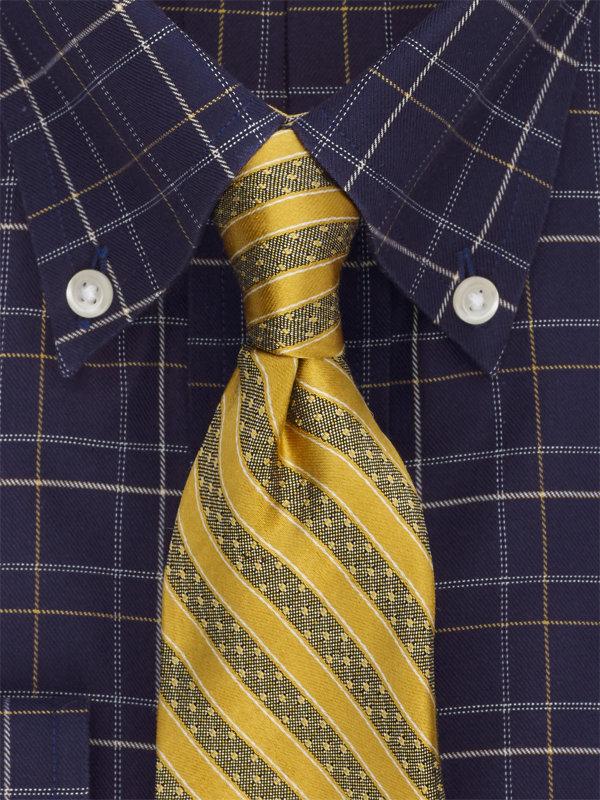 Stripw Silk Tie