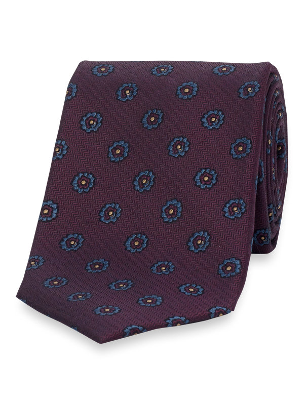 Small Pattern Silk Tie