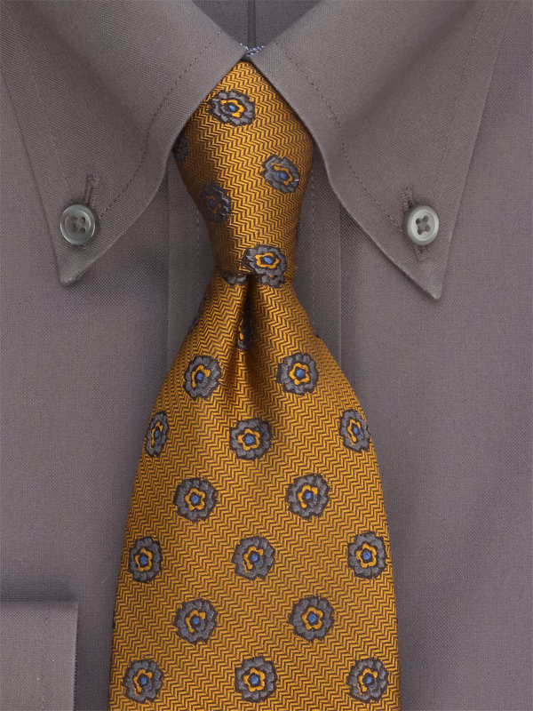 Small Pattern Silk Tie
