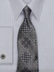 Patchwork Silk Tie