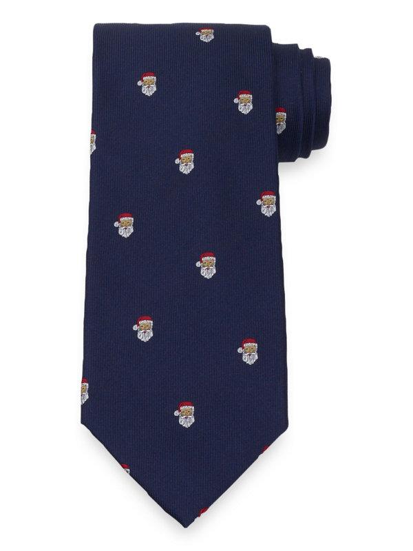 Santa Silk Tie