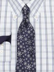 Snowflake Silk Tie