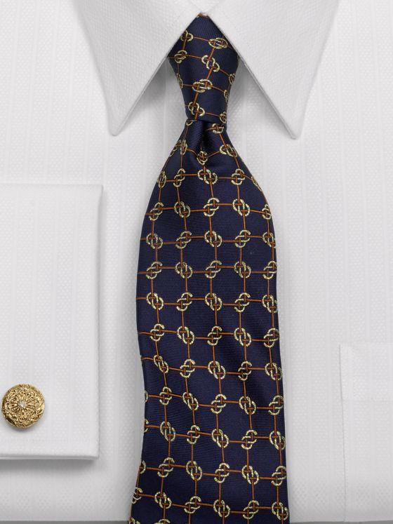 Links Silk Tie