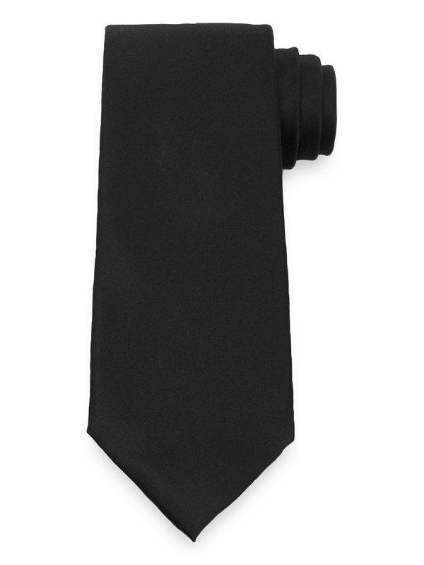 Textured Solid Silk Tie