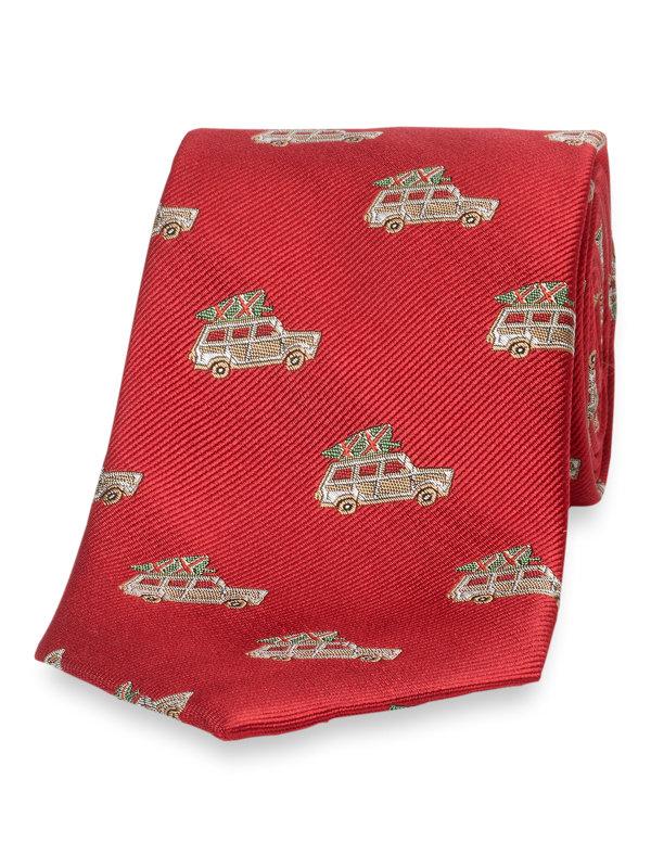 Truck Silk Tie