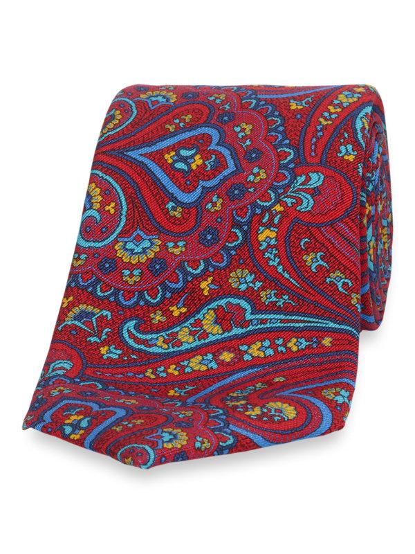 Italian Paisley Silk Tie
