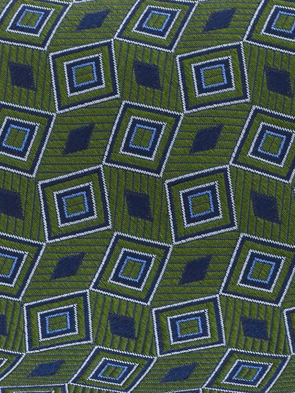 Geometrick Silk Tie