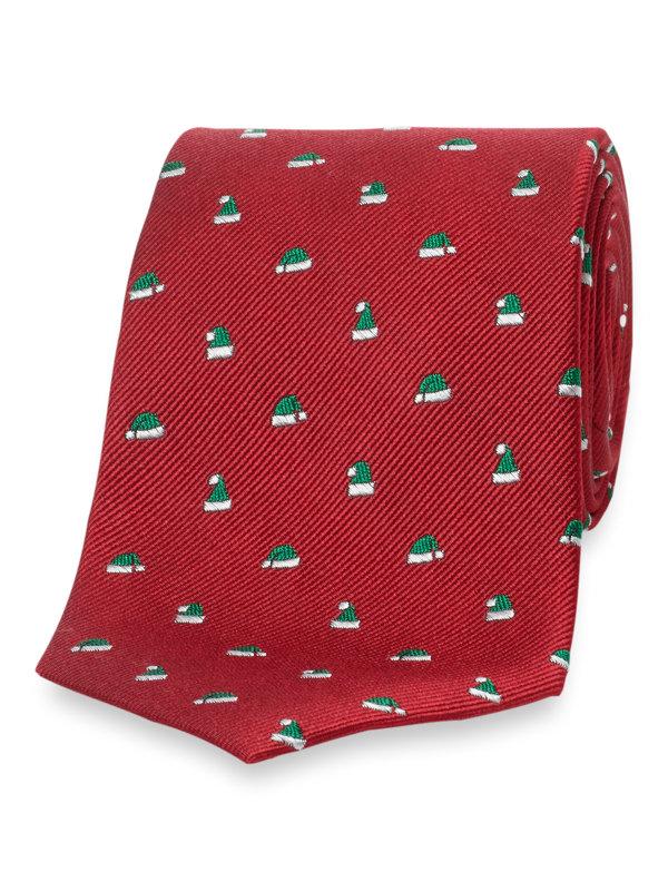 Santa Hat Silk Tie
