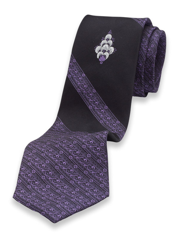 Panel Silk Tie