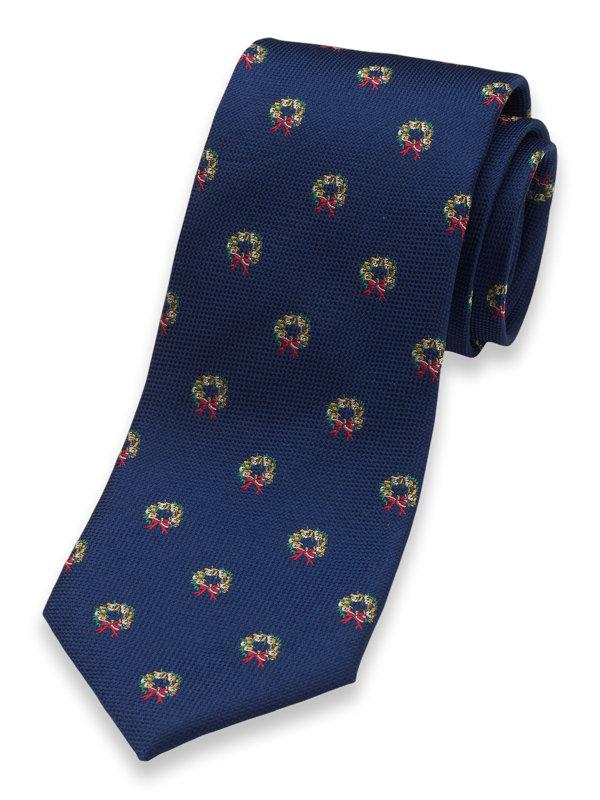 Wreath Silk Tie