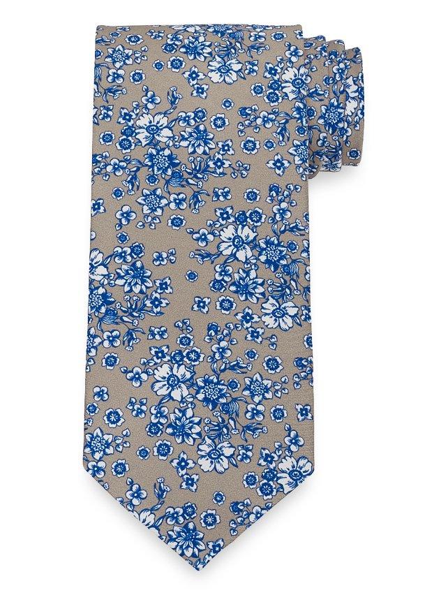 Floral Printed Tie