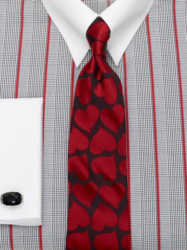 Hearts Silk Tie