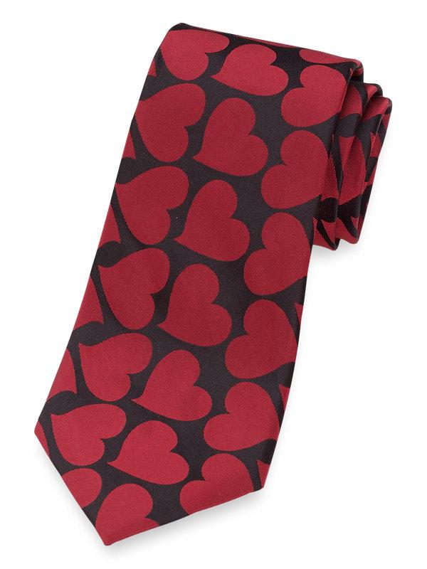Heart Silk Tie