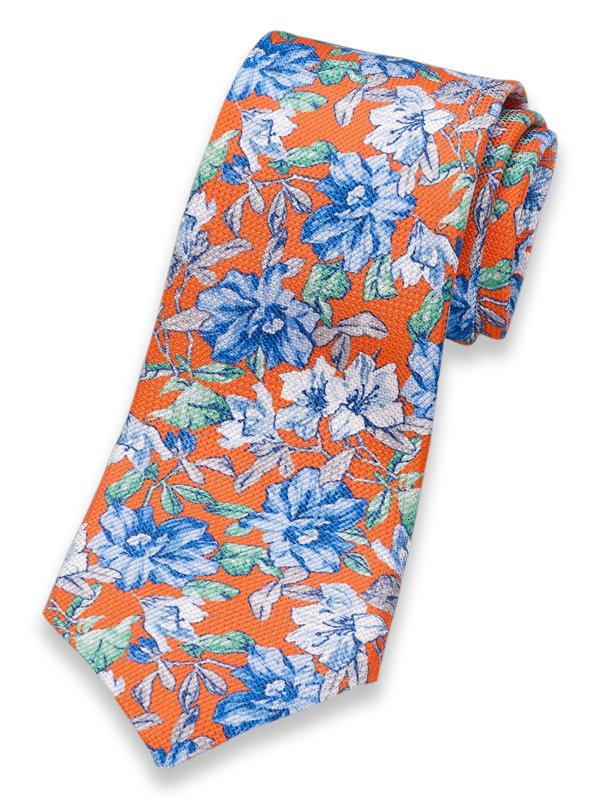 Italian Floral Silk Tie