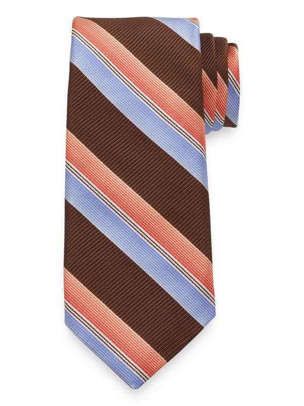 Italian Stripe Silk Tie