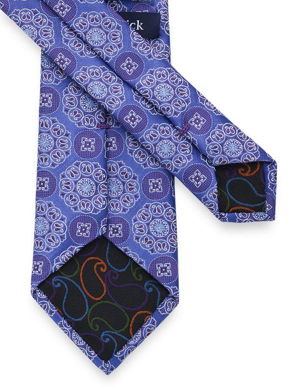 Medallion Silk Tie