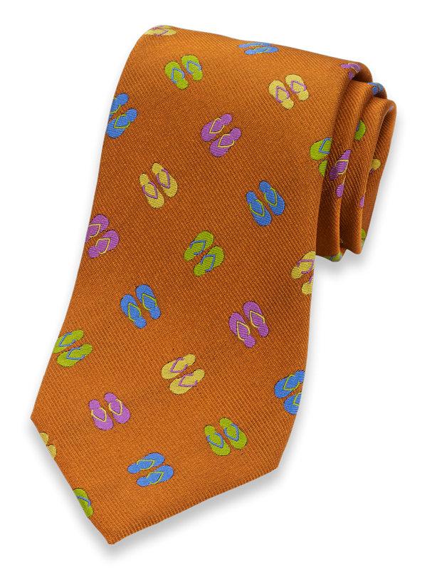 Flip-Flop Silk Tie