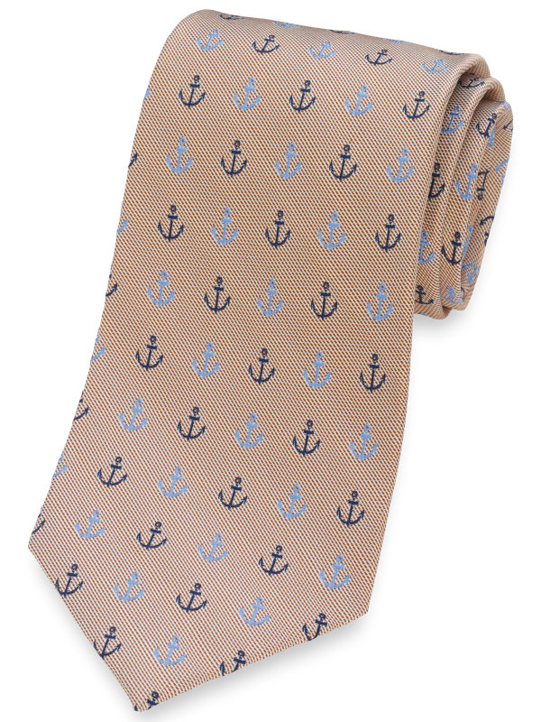 Anchor Silk Tie