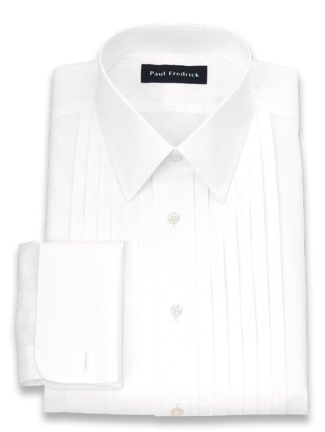 Slim Fit Non-Iron Impeccable 12-pleat Tuxedo Dress Shirt