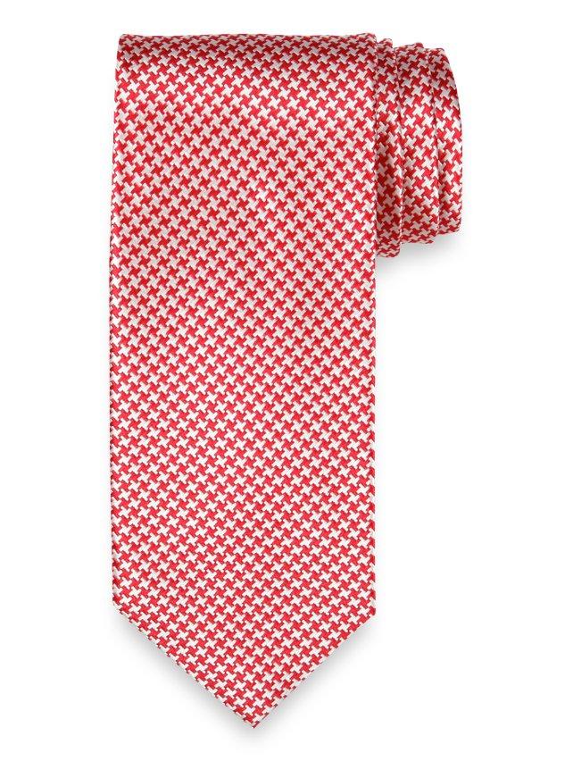 Mini Houndstooth Tie