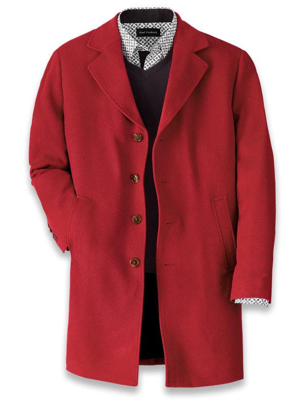 Wool Solid Top Coat
